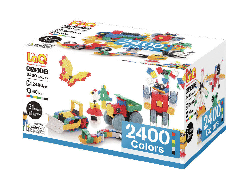 LaQ Basic Series - Basic 2400 Colors LAQ000132 by LaQ Blocks