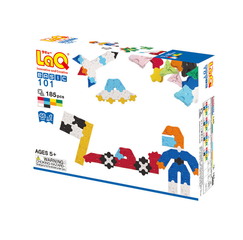 LaQ Basic Series - Basic 101 Plane LAQ001221 by LaQ Blocks