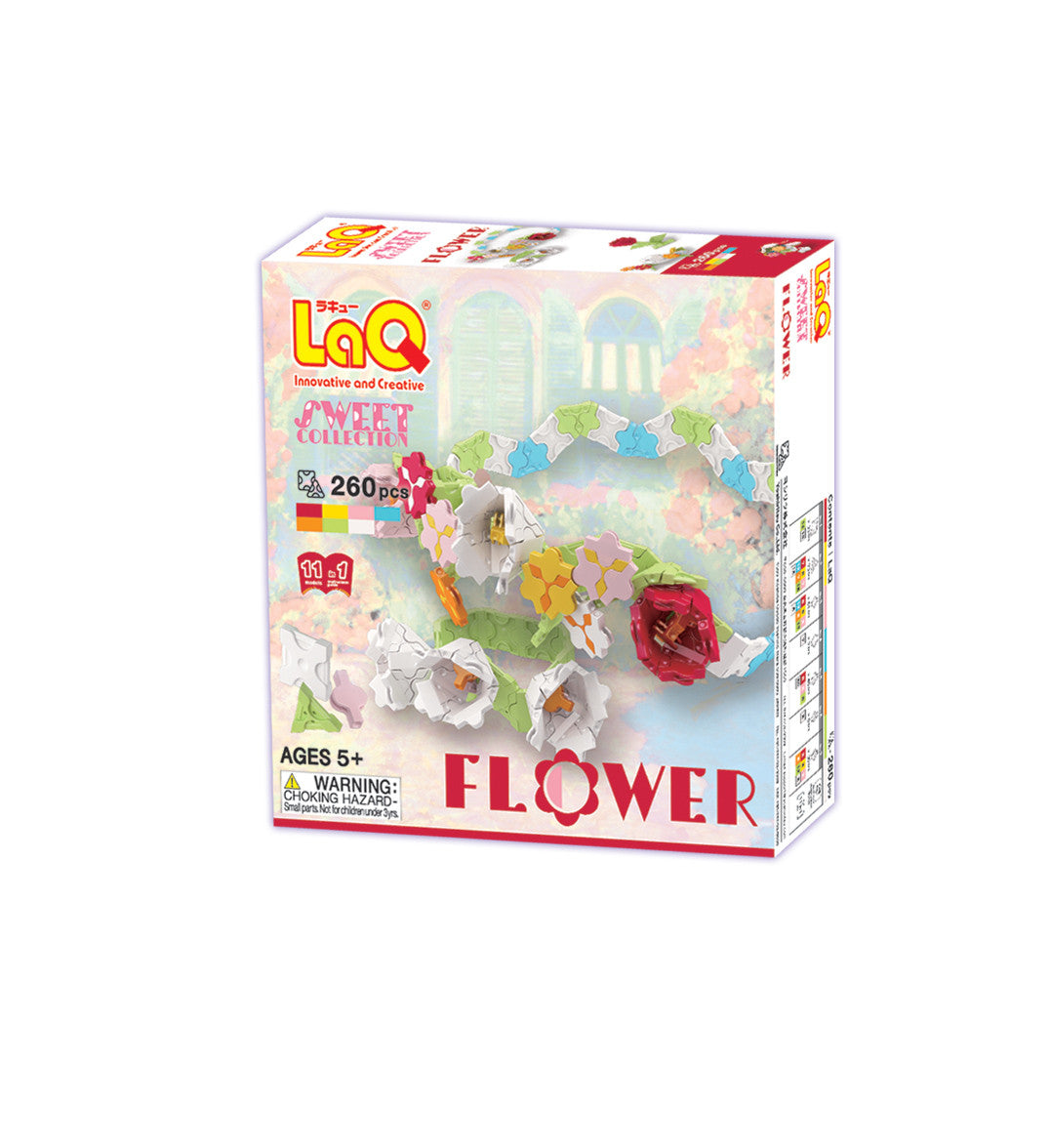 LaQ Sweet Collection - Flower LAQ001320 by LaQ Blocks
