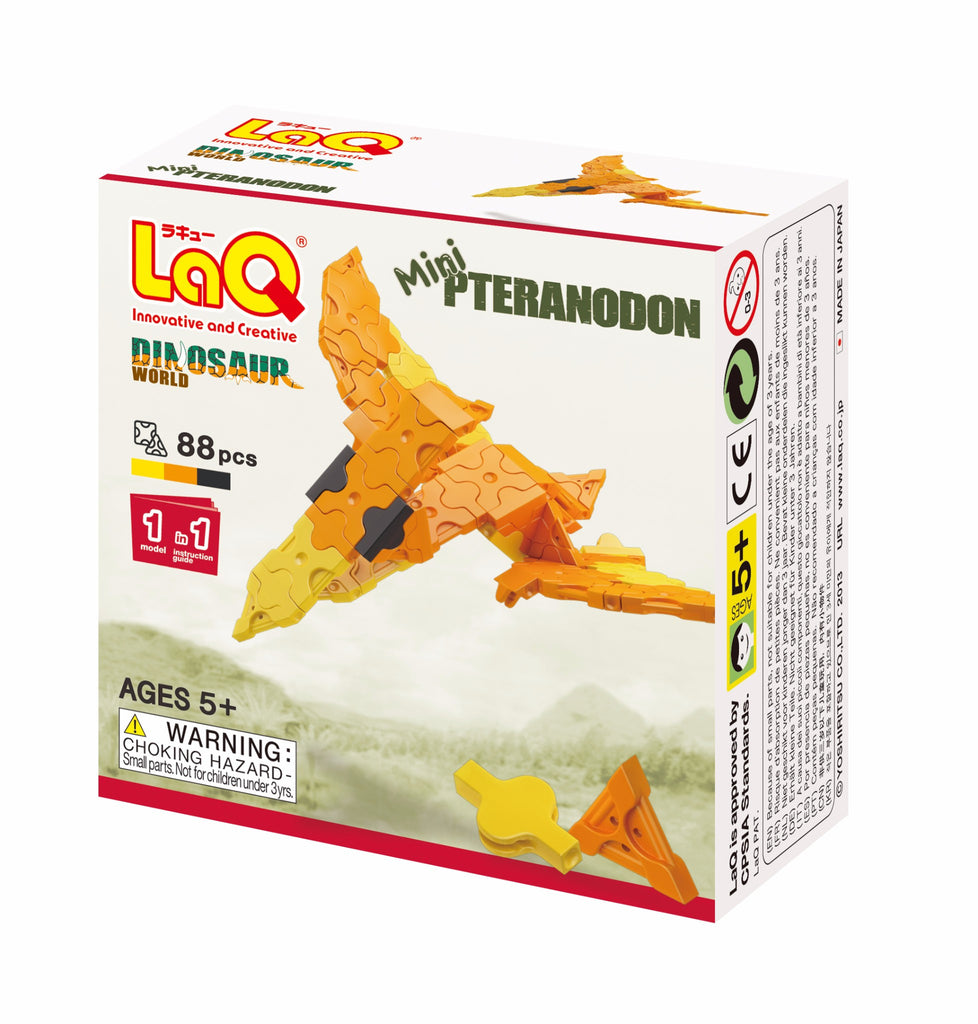 LaQ Dinosaur World - Mini Pteranodon LAQ001818 by LaQ Blocks