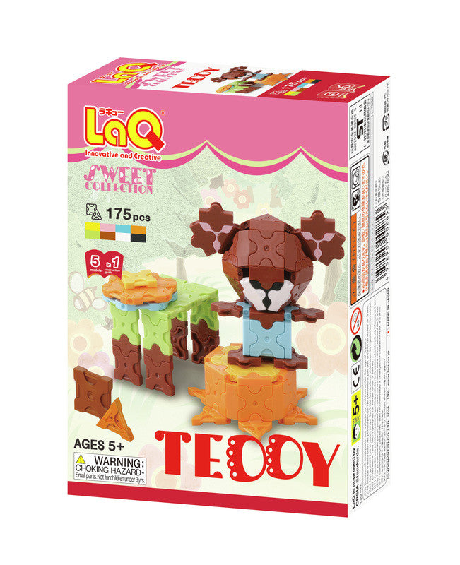 LaQ Sweet Collection - Teddy LAQ002853 by LaQ Blocks