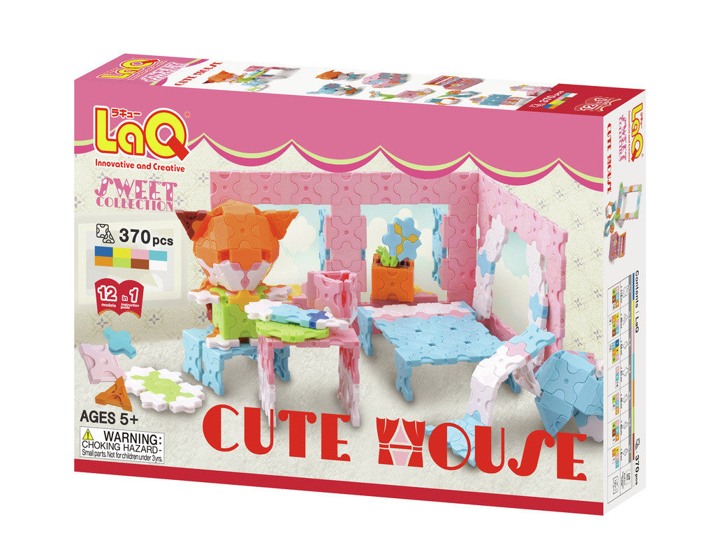 LaQ Sweet Collection - Cute House LAQ002860 by LaQ Blocks