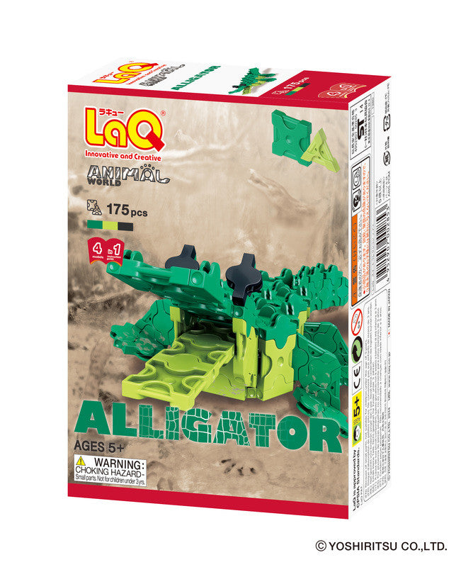 LaQ Animal World - Alligator LAQ003010 by LaQ Blocks