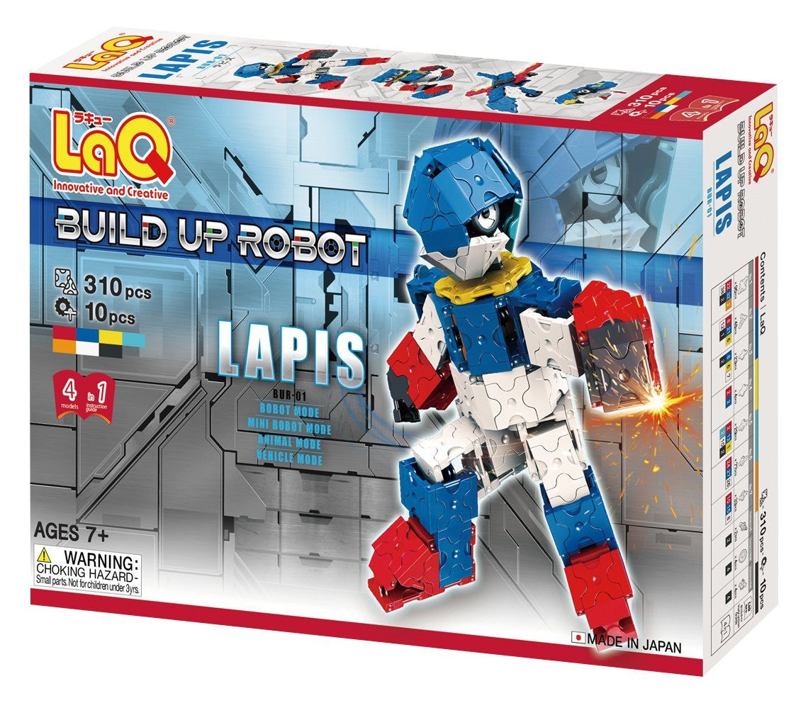 LaQ Robot Series - Robot Lapis LAQ003331 by LaQ Blocks