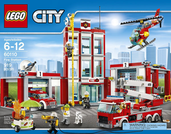 LEGO CITY Fire Station 60110 | You Are My Everything (Yame ...