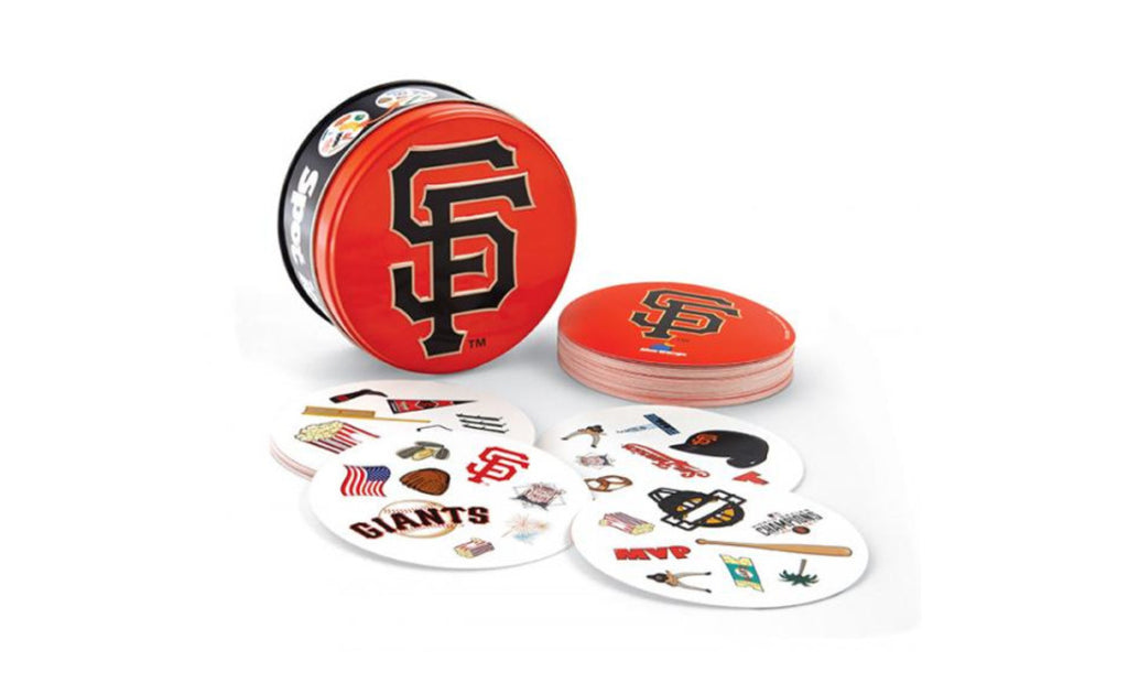 Blue Orange Spot It! MLB San Francisco Giants Card Game