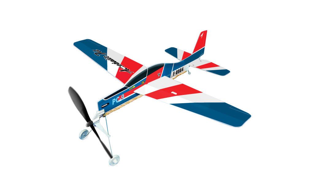 Be Amazing Toys Aerobatic Jet Rubberband Powered Plane 5007