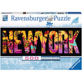 Ravensburger Adult Puzzles 500 pc Panorama Puzzle - New York Graffiti 14650