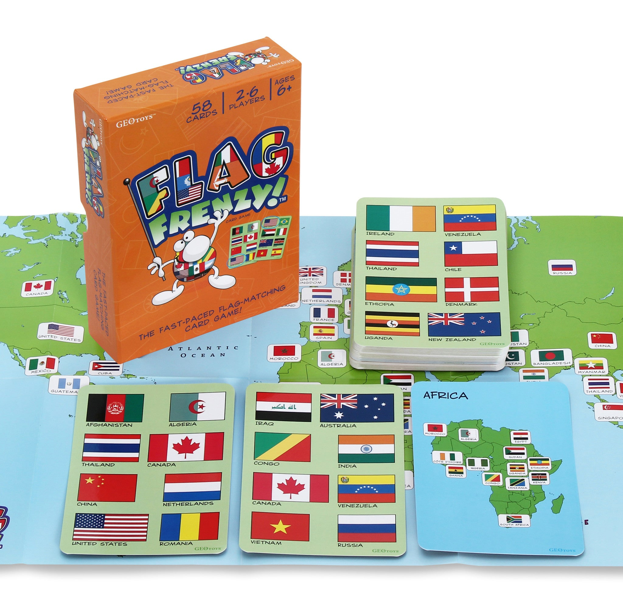 GeoToys Flag Frenzy World