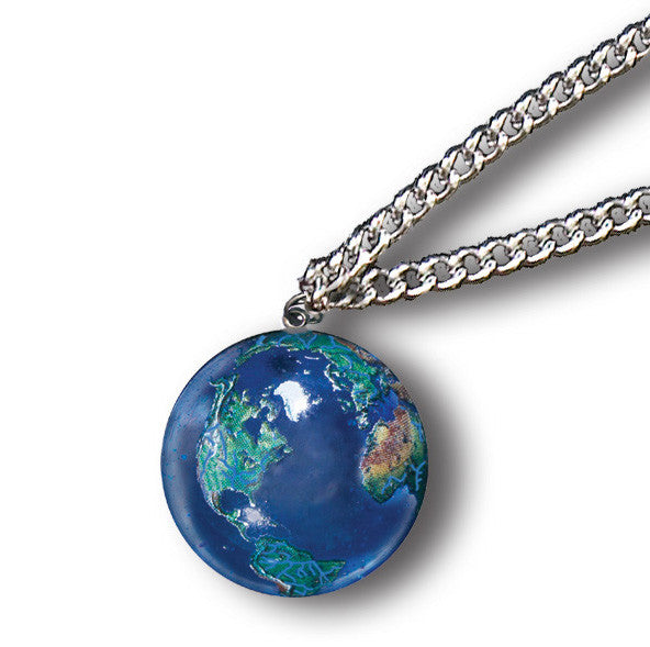 GeoToys Earth Marble Necklace