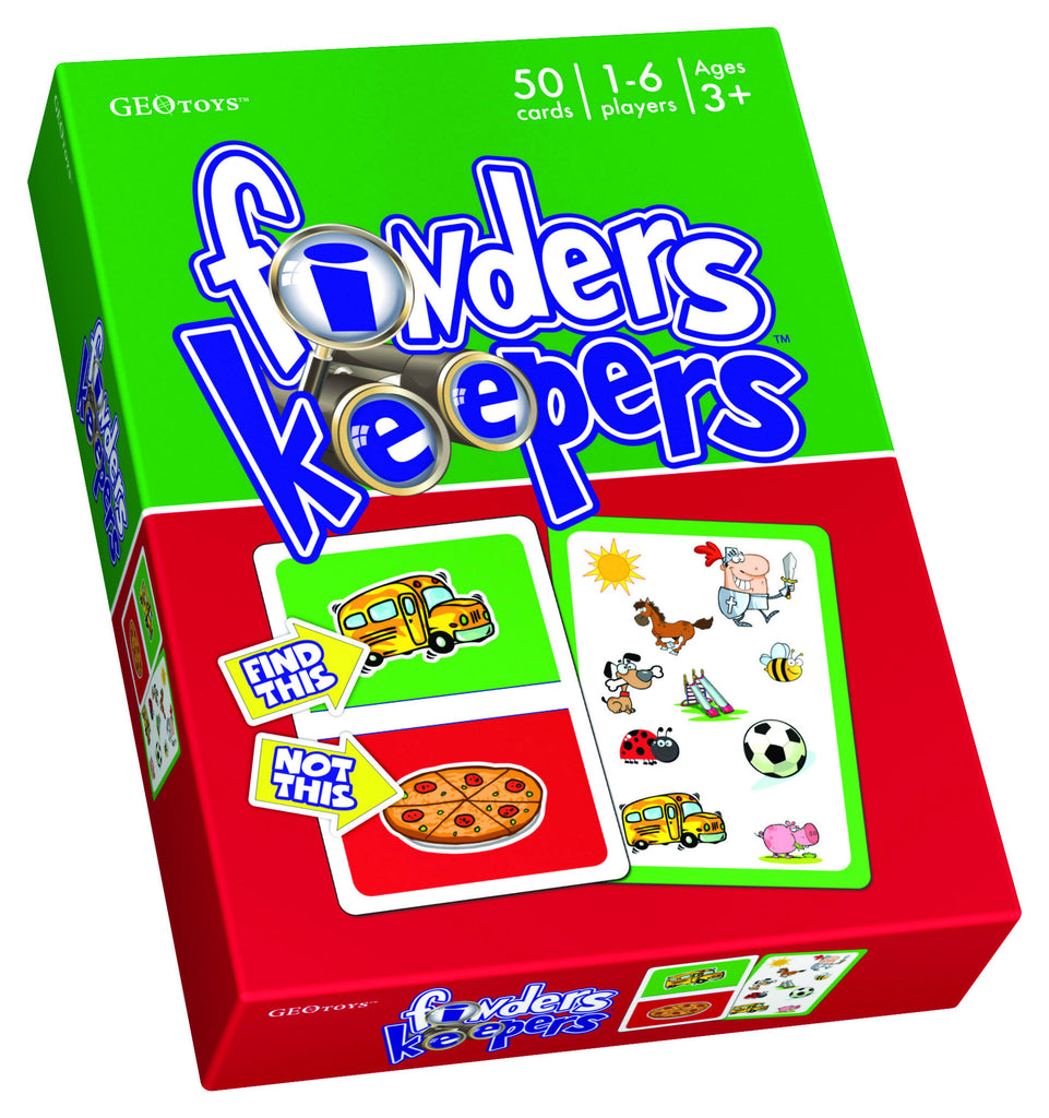 GeoToys Finders Keepers