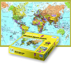 GeoToys 500 Pc Hema World Puzzle