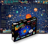 GeoToys Dino'S Solar System Map – 500 Pc Jigsaw Puzzle