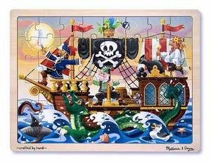 Melissa & Doug Pirate Adventure Jigsaw (48 pc)