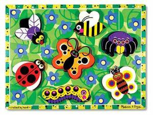 Melissa & Doug Insects Chunky Puzzle 3729