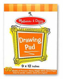 "Melissa & Doug Drawing Pad (9""x12"") 4108"