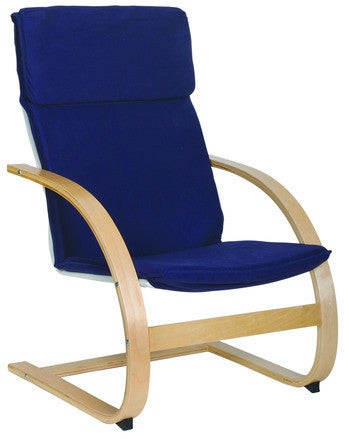 Guidecraft Classroom Furniture - Teachers Rocker Blue G6490