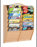 Guidecraft Classroom Furniture - Magazine Rack 12 Section G6321