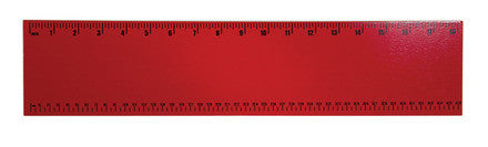 Guidecraft Personalized Wall Art - Ruler Red G6516