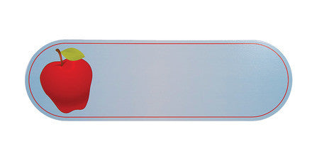 Guidecraft Personalized Wall Art - Sign Apple G6515
