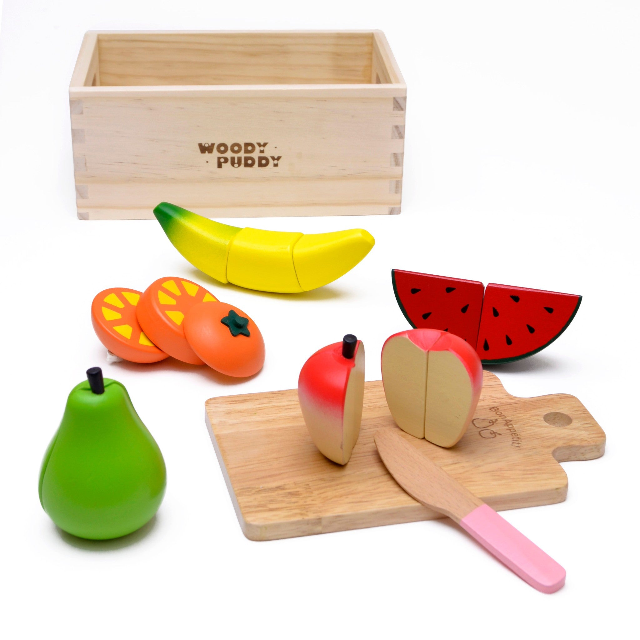 Woody Puddy Sets - Fruit Set U05-0009 by Woody Puddy
