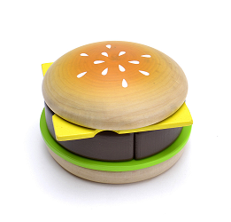 Woody Puddy Sets - Hamburger Set U05-0028 by Woody Puddy