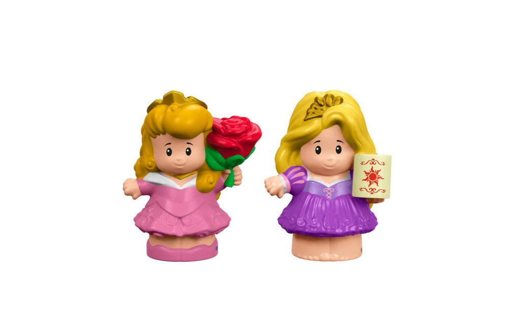 Fisher-Price Little People Disney Princess Aurora & Rapunzel DRH12