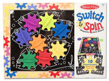 Melissa & Doug Switch & Spin Magnetic Gear Board 3745