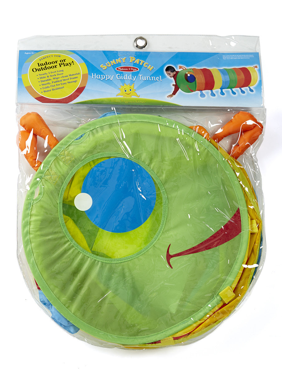 Melissa & Doug Happy Giddy Tunnel 6201