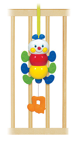Melissa & Doug Musical Pull & Move Inchworm
