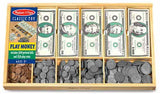 Melissa & Doug Play Money Set 1273