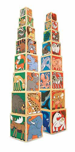Melissa & Doug Wooden Animal Nesting Blocks 4207