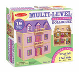 Melissa & Doug Multi-Level Wooden Dollhouse 4570