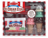 Melissa & Doug Scoop & Stack Ice Cream Cone Playset 4087
