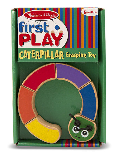 Melissa & Doug Caterpillar Grasping Toy 3032