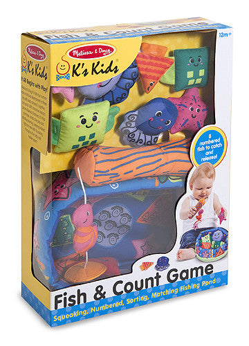 Melissa & Doug Fish & Count Game 9184