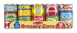 Melissa & Doug Let's Play House! Grocery Cans 4088