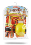 Melissa & Doug Construction Worker Role Play Costume Set 4837