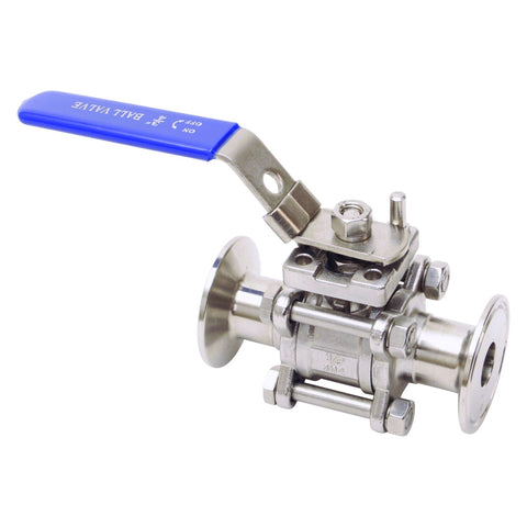 Tri Clamp Ball Valves