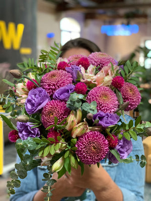 Load image into Gallery viewer, The Purple Lover Bouquet | Ticolas.com