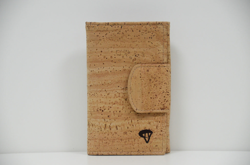 Natural Cork Wallet Adele - CESARSCORK