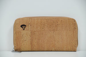 Natural Cork Wallet Agatha - CESARSCORK