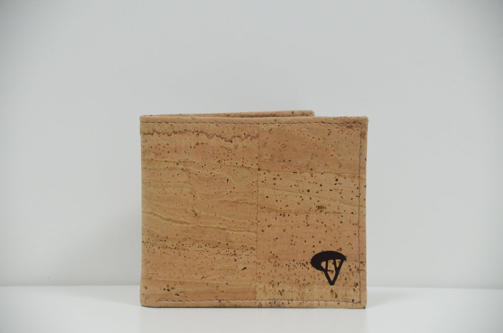 Natural Cork Wallet Alceu - CESARSCORK