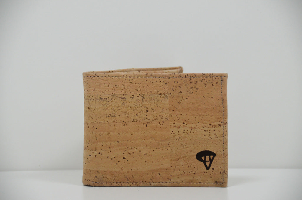 Natural Cork Wallet Alexis - CESARSCORK