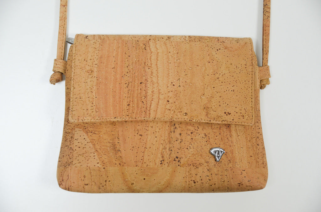 Natural Crossbody Cork Bag Dahlia - CESARSCORK