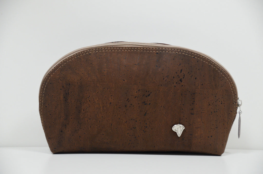 Brown Cork Necessaire Felis - CESARSCORK