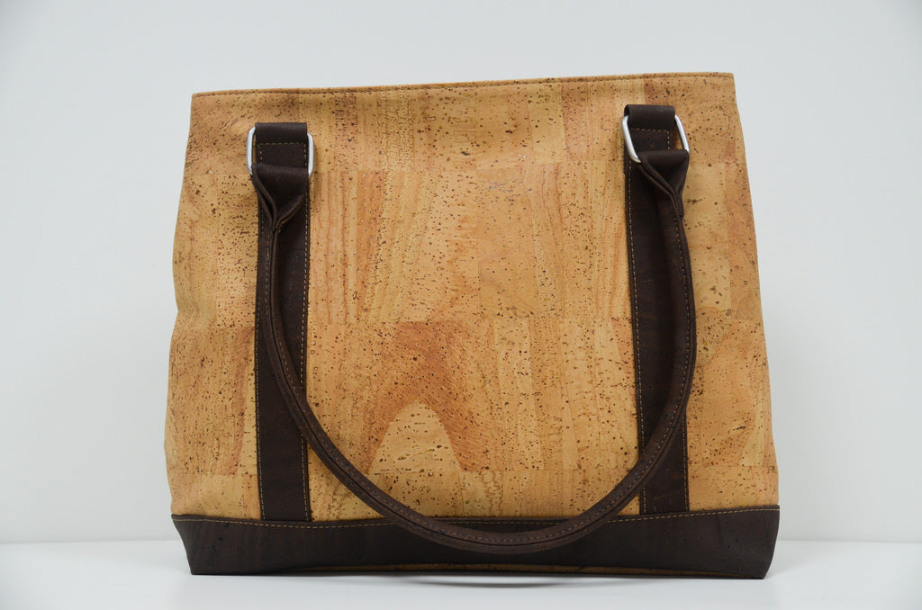 Natural Cork Handbag Germania - CESARSCORK