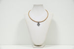 Load image into Gallery viewer, Cork Heart of Viana Necklace Elegant - CESARSCORK