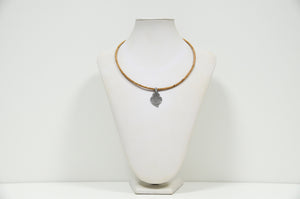 Cork Heart of Viana Necklace Elegant - CESARSCORK