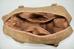 Load image into Gallery viewer, Beige Cork Duffel Bag Helvetia - CESARSCORK
